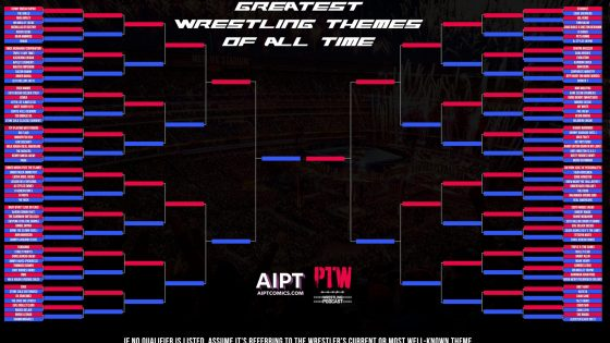 PTW Wrestling Podcast episode 131: The Greatest Wrestling Themes Ever: Part 1