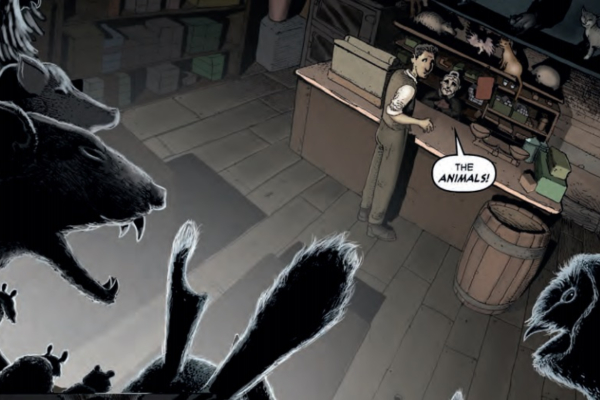 'Frank At Home On The Farm' exemplifies the real value of horror comics in 2020