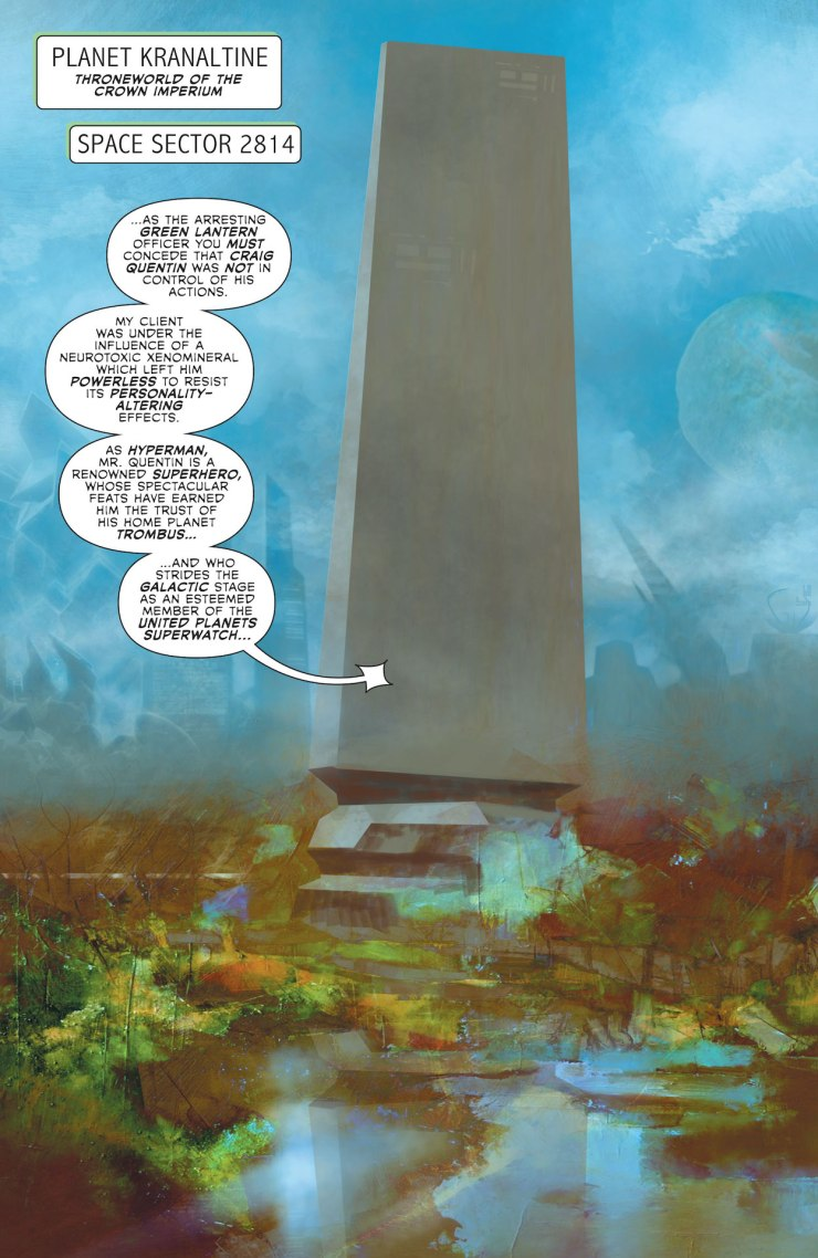 Green Lantern Chapter Two #9 preview
