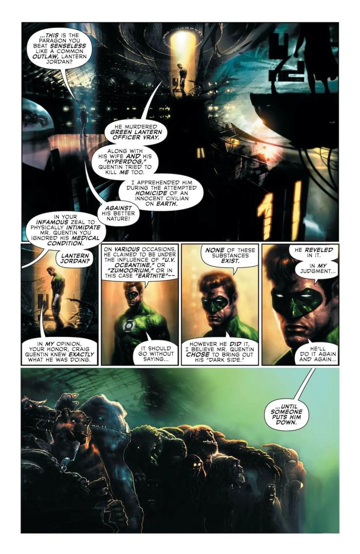DC Preview: Green Lantern Chapter Two #9