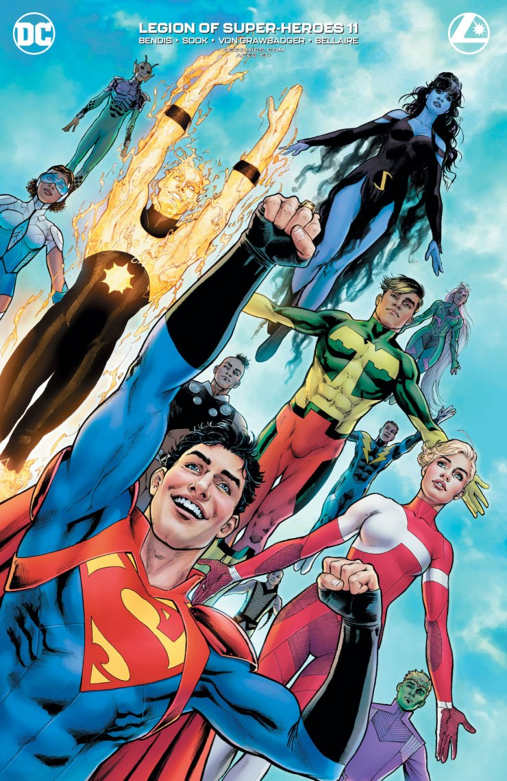 DC Preview: Legion of Super-Heroes #11