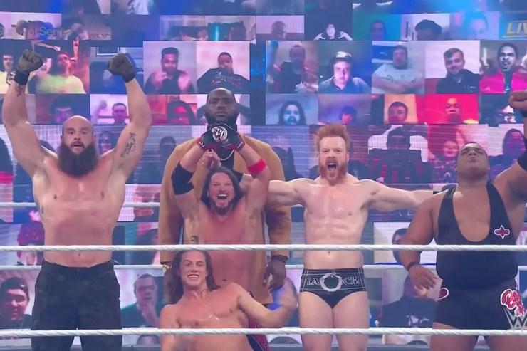WWE Survivor Series 2020 - Team Raw