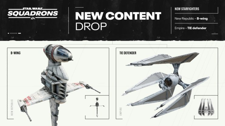 EA announces new content coming to Star Wars: Squadrons