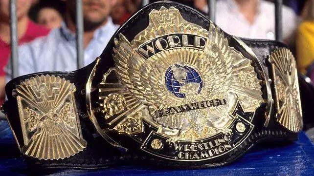 wwe winged eagle wrestling world title
