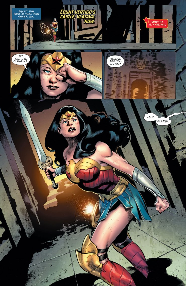 DC Preview: Wonder Woman #767