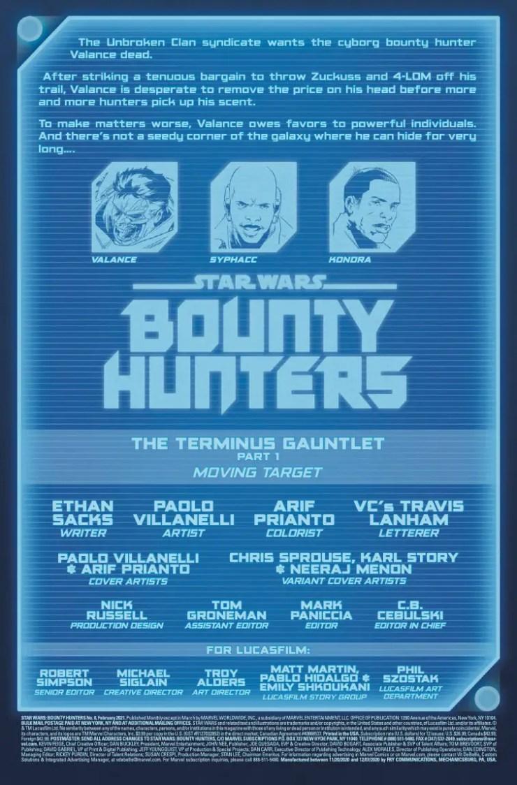 Star Wars: Bounty Hunters (2020-) #8
