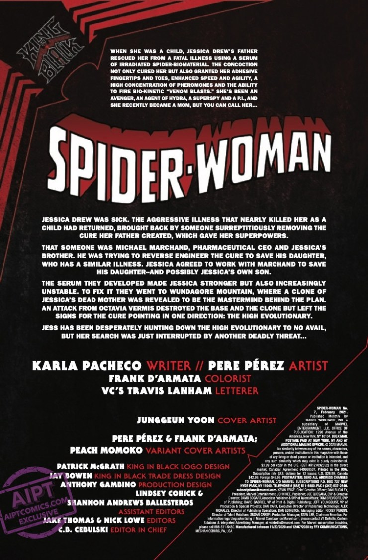 EXCLUSIVE Marvel Preview: Spider-Woman #7