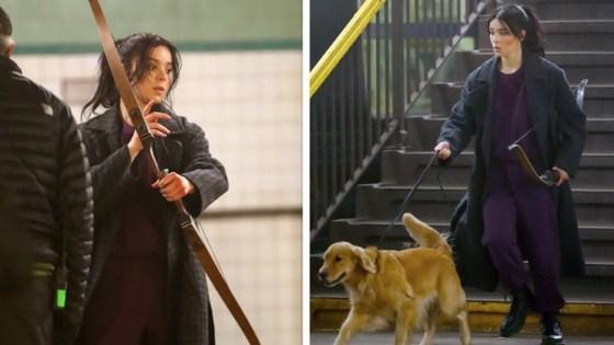 Hailee Steinfeld spotted, confirmed as Kate Bishop in upcoming 'Hawkeye' series