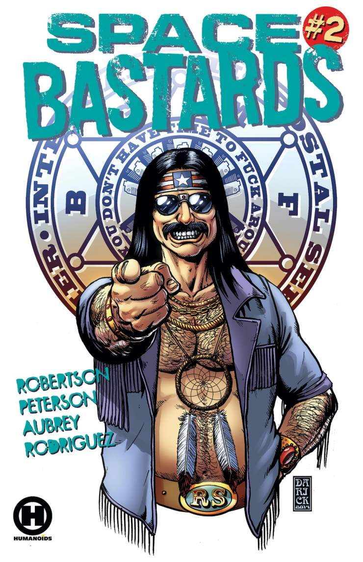 Space Bastards #2 cover