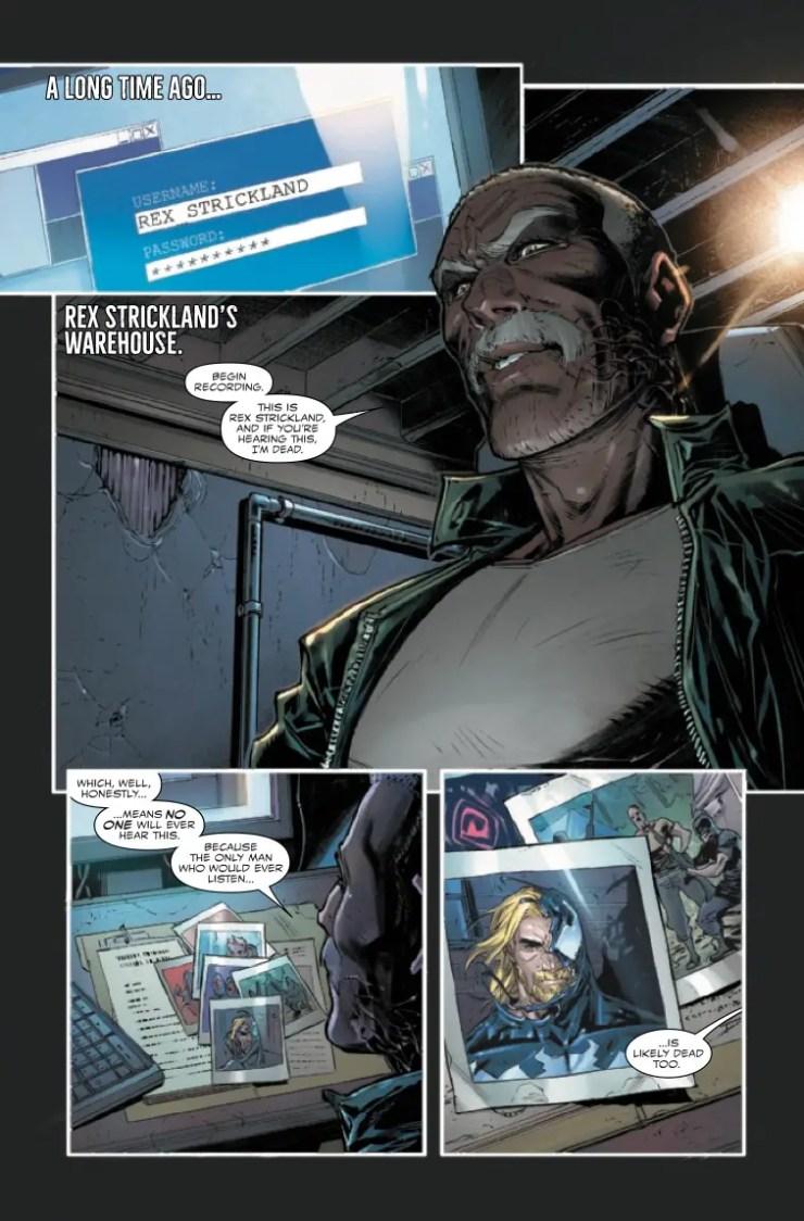 Venom #31 preview 2020