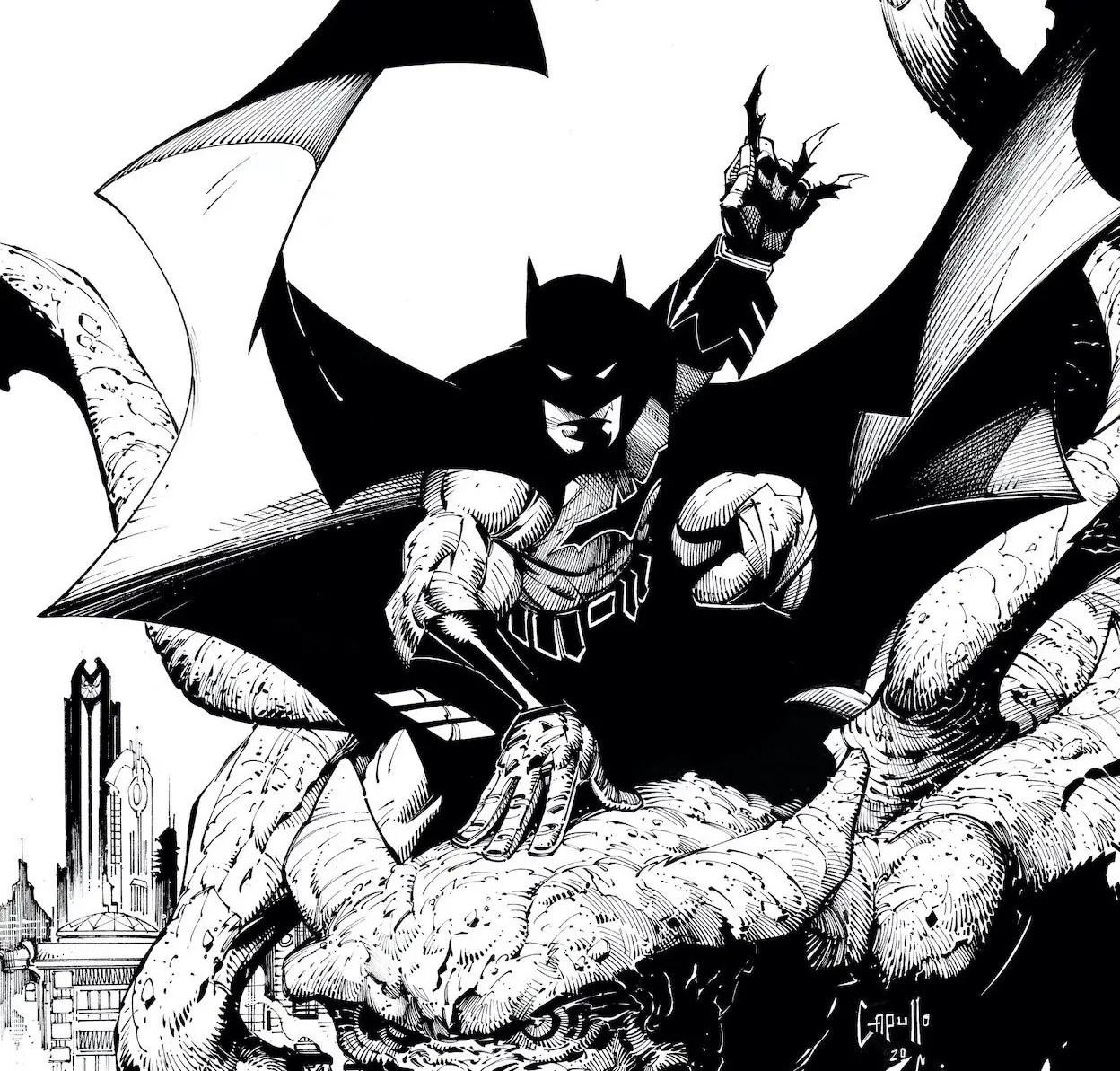 'Batman Black & White' #1 review
