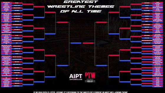 The Greatest Wrestling Themes of All Time: Round 1 D