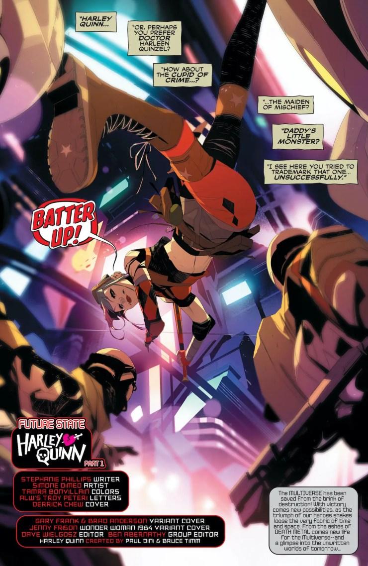 Future State: Harley Quinn (2021-2021) #1