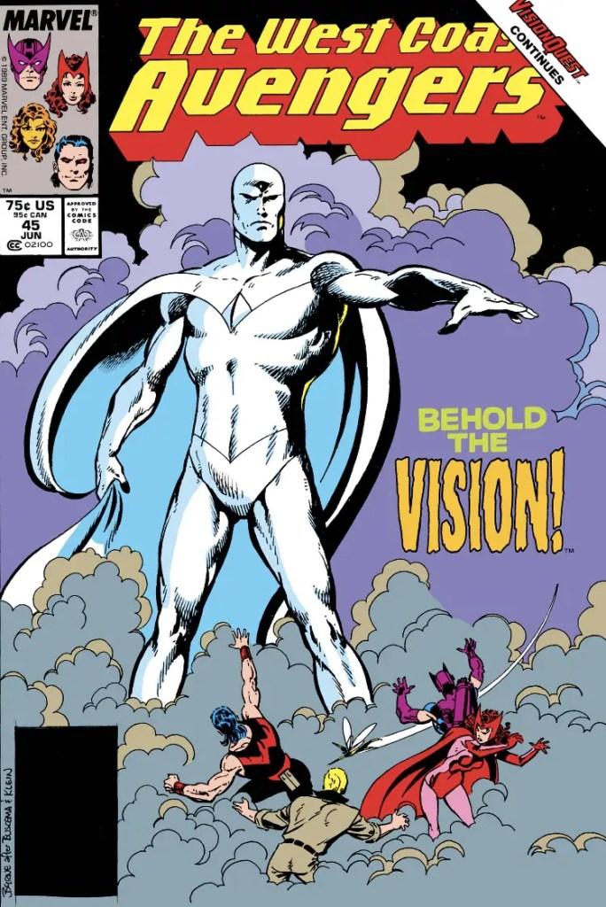 'Avengers West Coast Epic Collection: Vision Quest' review
