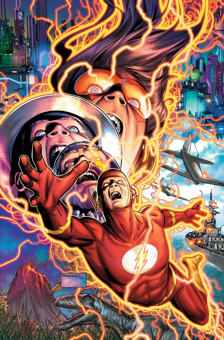 Writer Jeremy Adams and artist Brandon Peterson take over 'The Flash' in March 2021