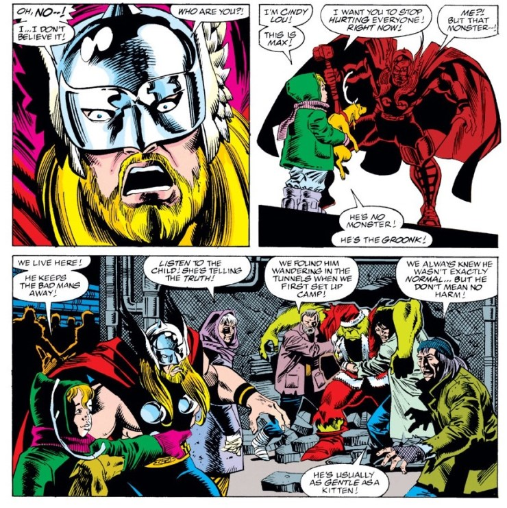 The Grinch not only exists in Marvel Comics, but fought Thor in 1991