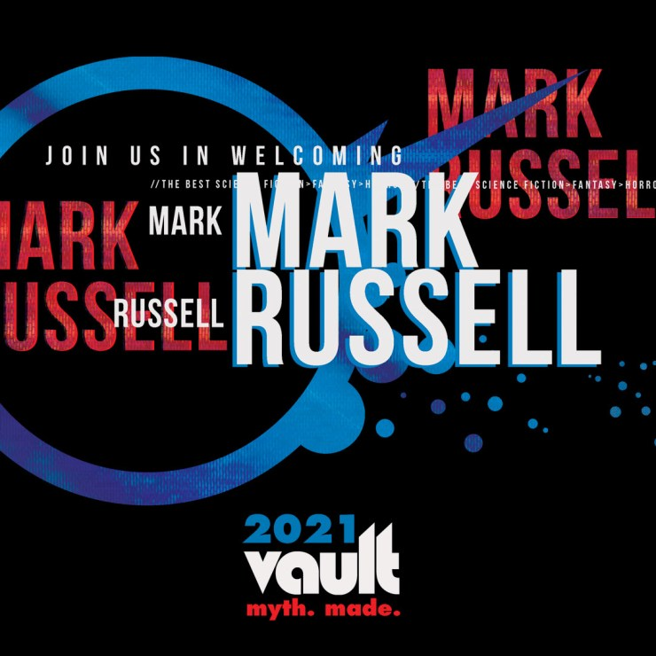 Vault Comics adds Mark Russell to an impressive 2021 lineup