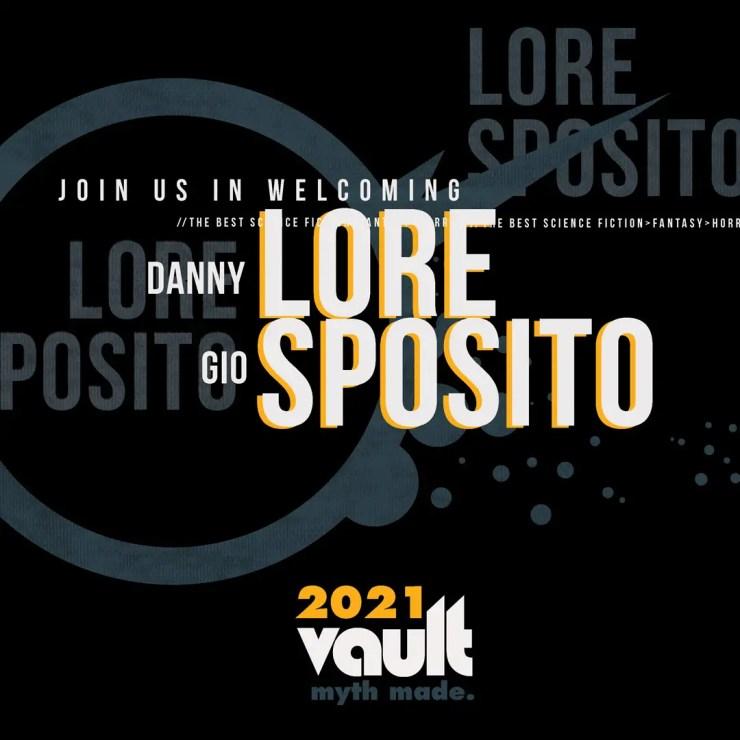 Vault Comics 2021 Danny Lore