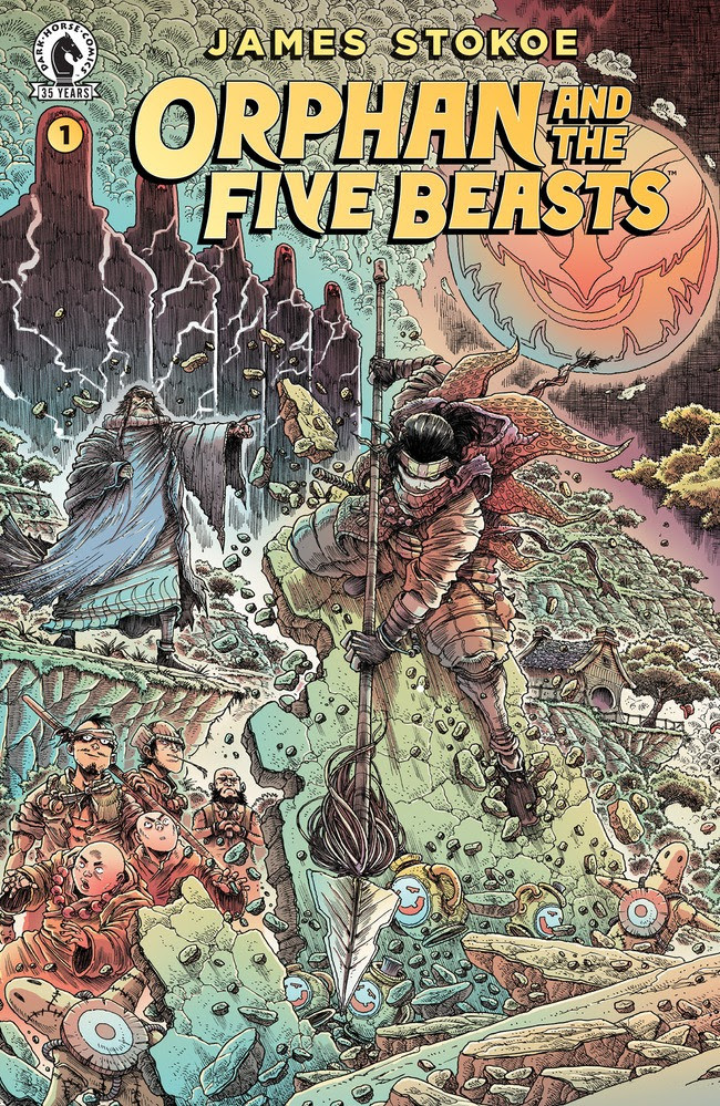 Dark Horse Comics announces kung-fu epic 'Orphan and the Five Beasts'