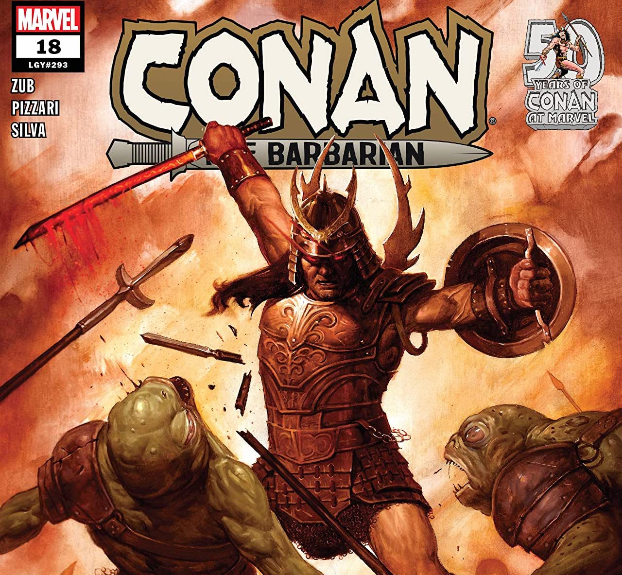 'Conan The Barbarian' #18 review