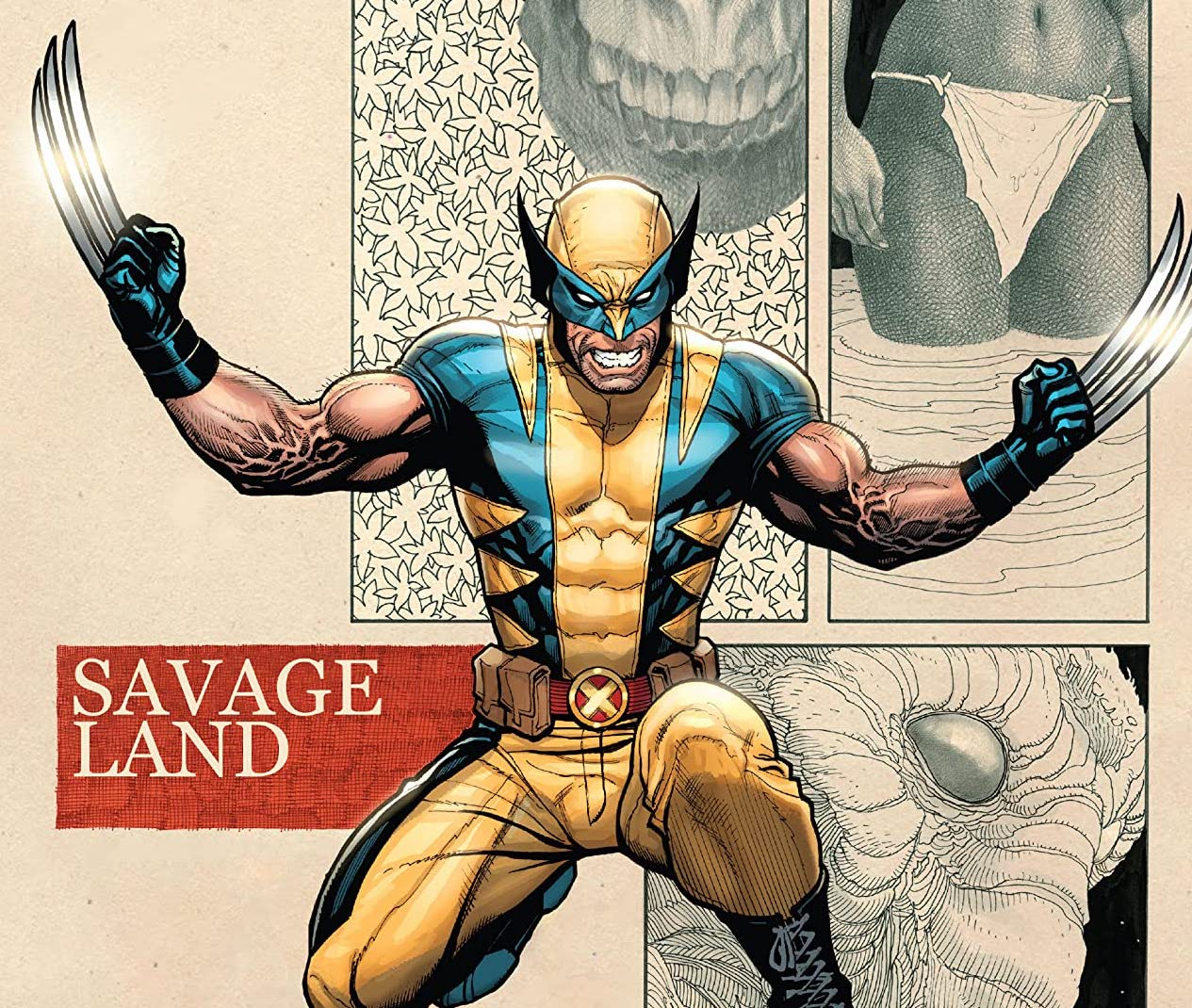 Wolverine by Frank Cho Vol. 1: Savage Land