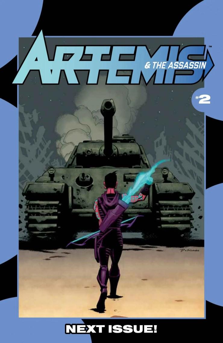 AfterShock Preview: Artemis & The Assassin Vol. 1