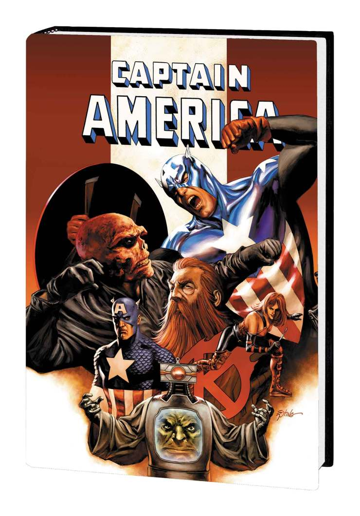 CAPTAIN AMERICA: THE DEATH OF CAPTAIN AMERICA OMNIBUS HC EPTING CAPTAIN AMERICA VS. COVER
