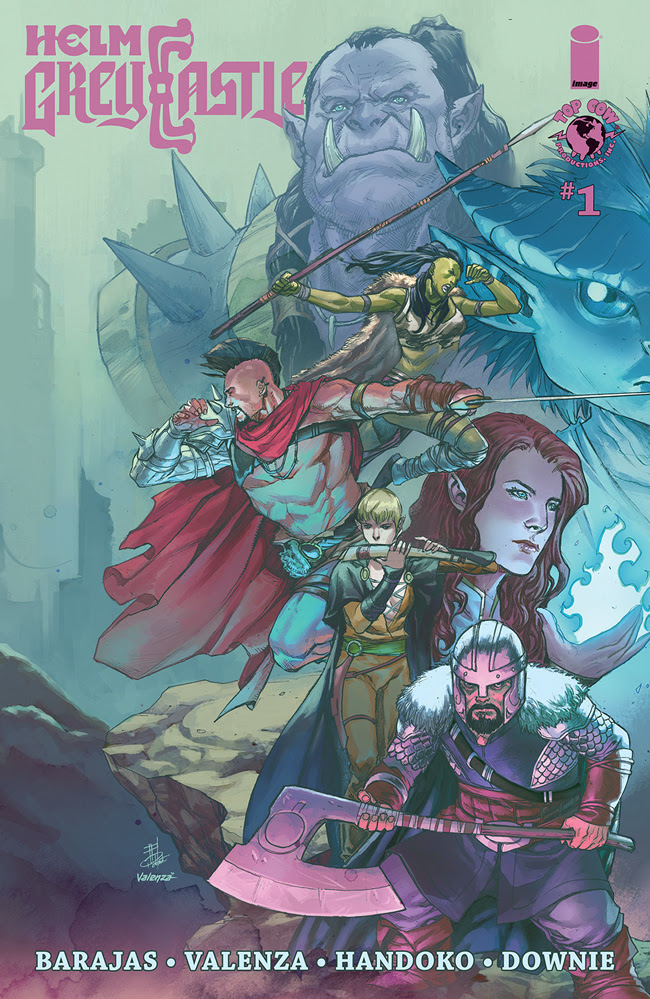 Top Cow announces high fantasy series 'Helm Greycastle' for April 28th