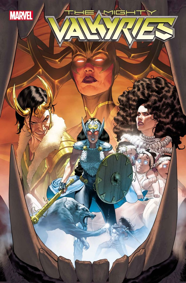 The Mighty Valkyries' #1 April 2021