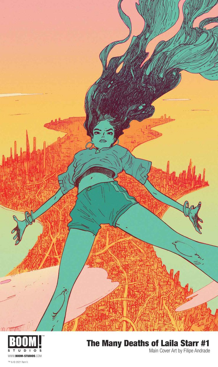 BOOM! Studios Preview: The Many Deaths of Laila Starr #1