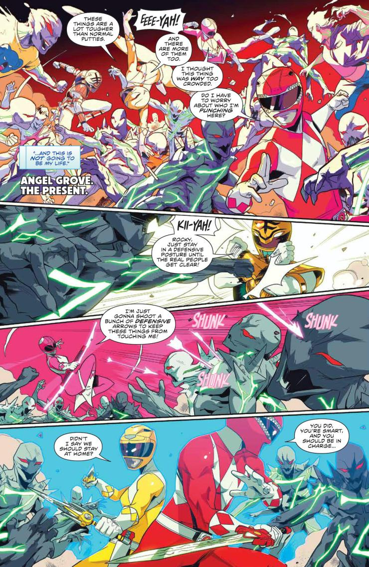 Mighty Morphin #3 preview