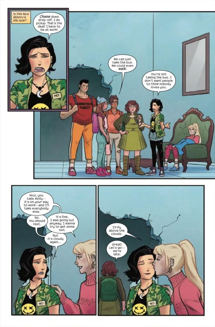 Marvel Preview: Runaways #33