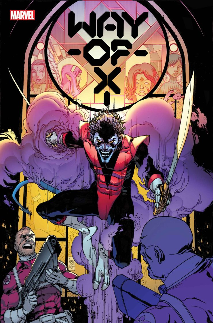 Way of X #1 nightcrawler si spurrier