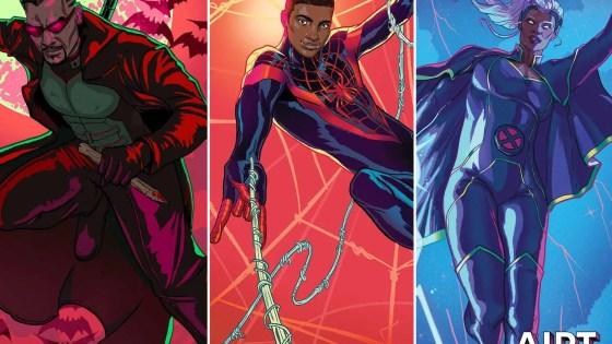Marvel celebrating Black History Month with Ernanda Souza covers