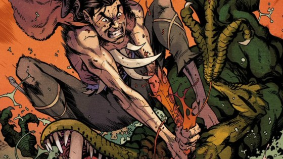 Nate Stockman on a 'Savage' year for comics