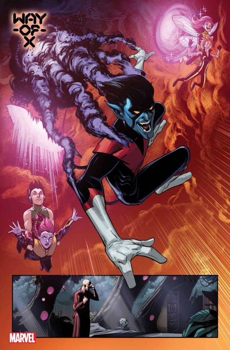 X-Men team series 'Way of X' by Si Spurrier and Bob Quinn