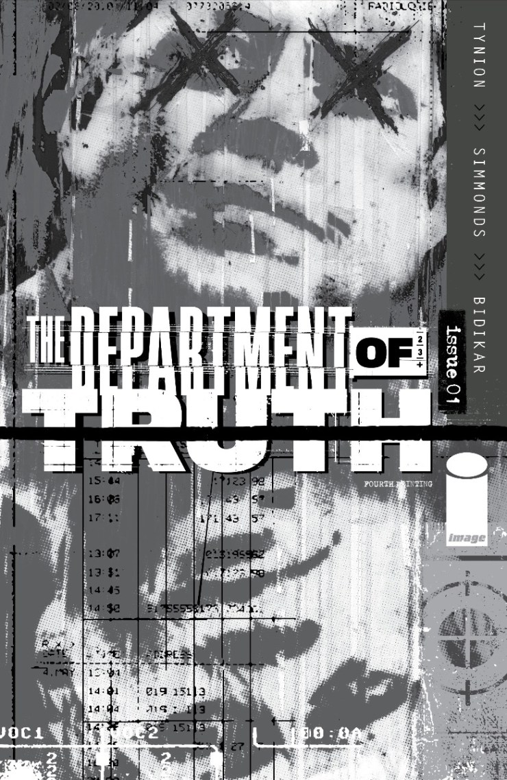 Image Comics reveals 'The Department of Truth' #1, 4, and 5 go back to print