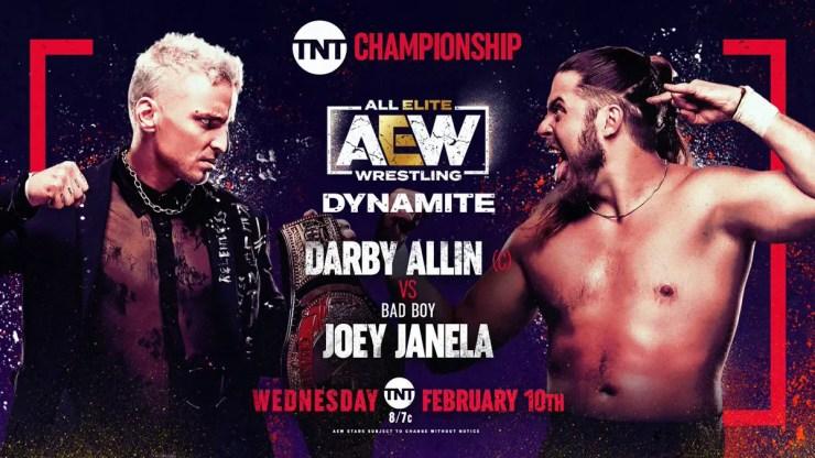 AEW Dynamite - Darby Allin vs. Joey Janela
