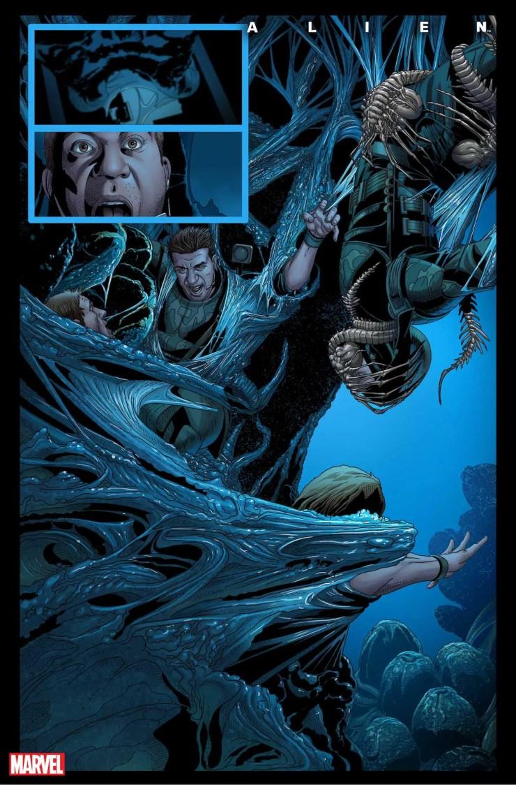 Marvel First Look: Alien #1