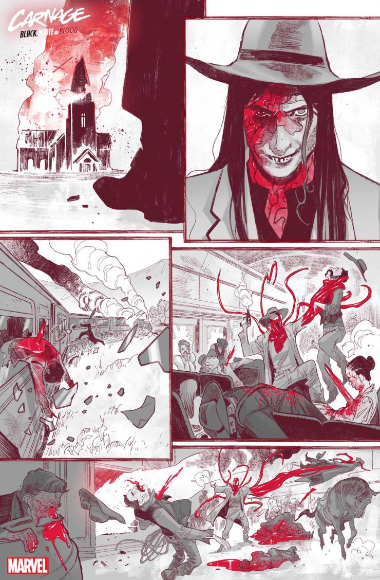 Carnage: Black, White, and Blood #1