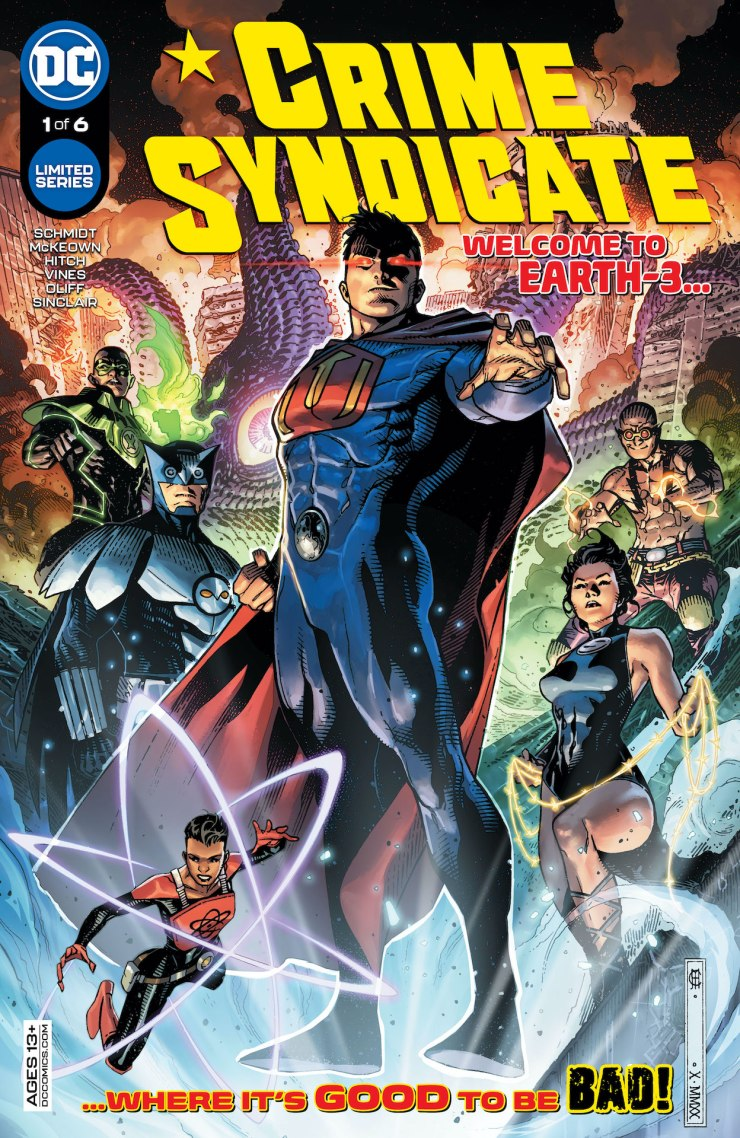 DC Preview: Crime Syndicate #1