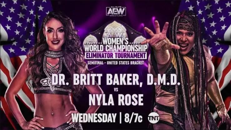 AEW Dynamite - Nyla Rose vs. Dr. Britt Baker, D.M.D.
