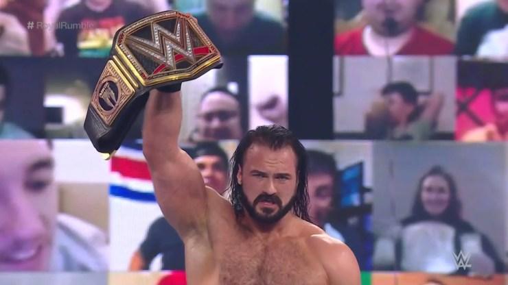 Royal Rumble 2021 - Drew McIntyre
