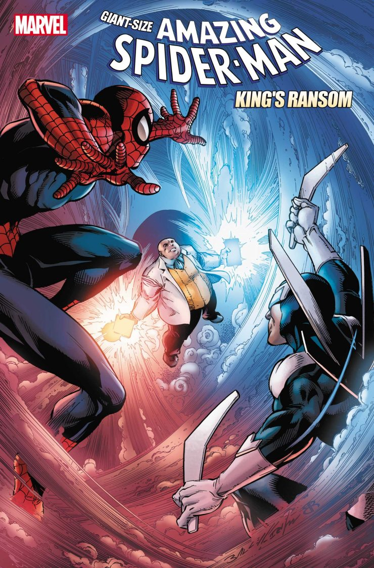 'Giant-Size Amazing Spider-Man: King's Ransom' is set to release May 12th.