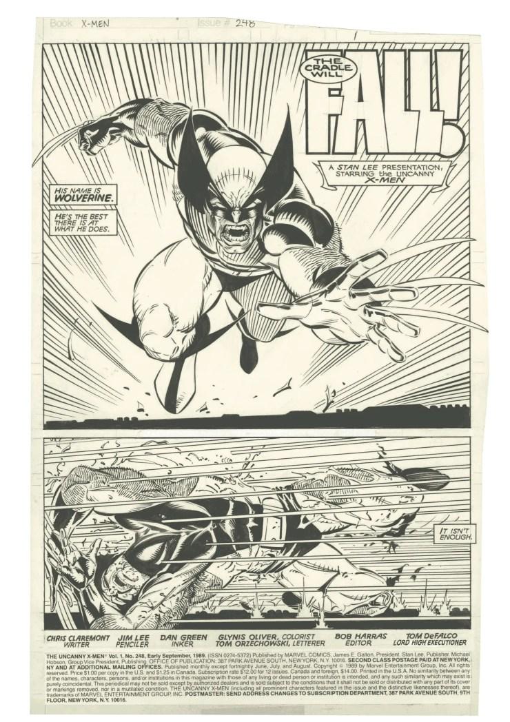 Jim Lee's X-Men: Artist's Edition