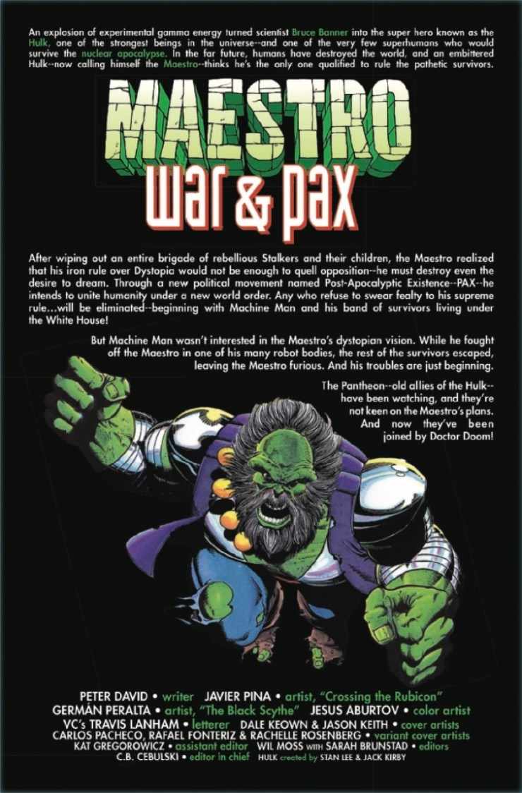 Marvel Preview: Maestro: War and Pax #2