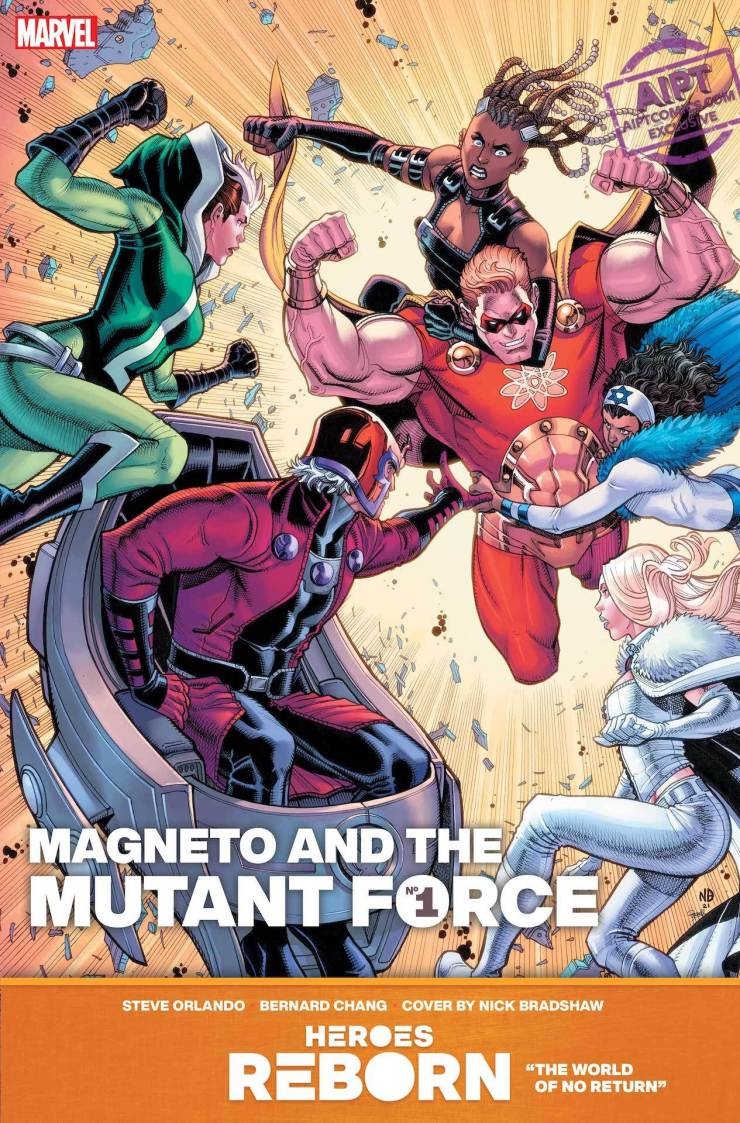Exclusive Marvel Preview: Heroes Reborn: Magneto & The Mutant Force #1