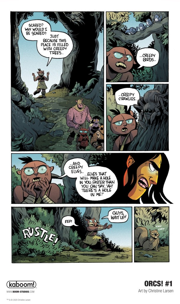 'ORCS!' #1 review