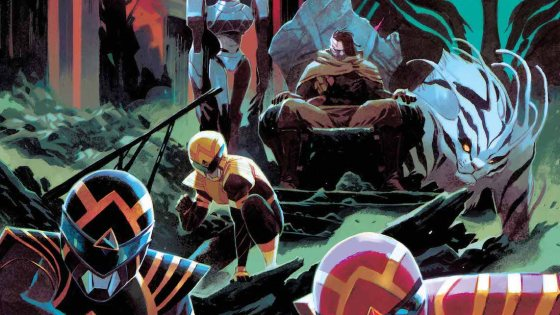 EXCLUSIVE BOOM! Preview: Power Rangers #4
