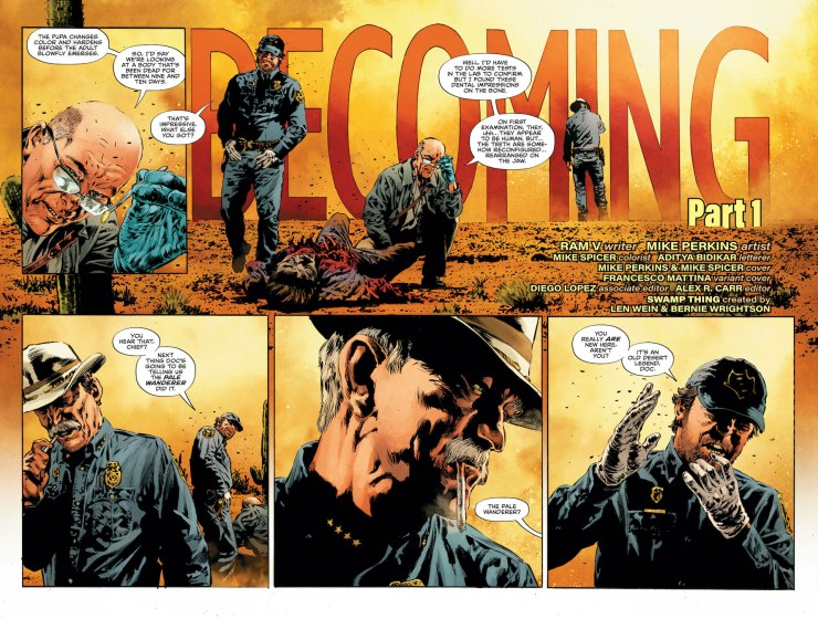 'The Swamp Thing' #1 is one of the most striking debut issues in recent memory